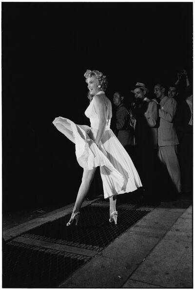 Elliott Erwitt, 'Marilyn Monroe on the Set of 'The Seven Year Itch', New York, 1954', 1954