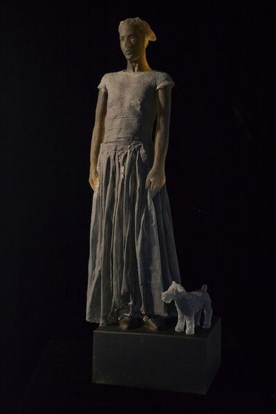 Nicolas Africano, 'Untitled (Girl with Dog)', 2015