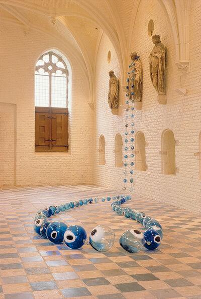Maria Roosen, 'Roosenkrans, Een van de vier elementen; Water / Roosenary, One of the four elements, Water', 1997