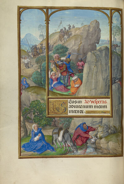 Master of James IV of Scotland, 'The Massacre of the Innocents', 1510-1520