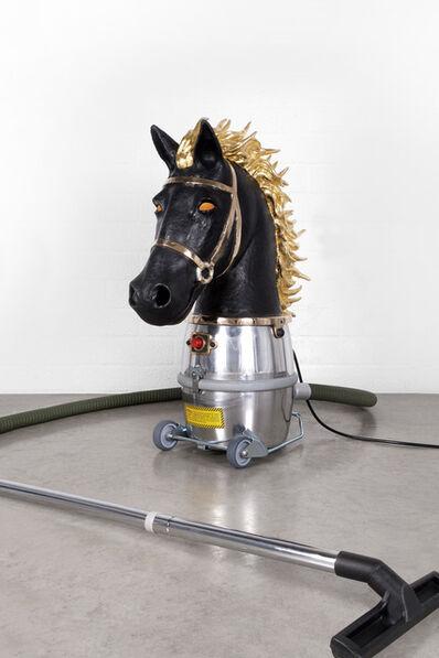 Studio Job, 'Horse Bust (Chess Piece)', 2014