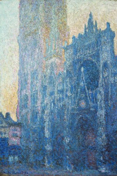 Claude Monet, 'La cathédrale de Rouen: Le portail (Effet du matin) (Rouen Cathedral: The Portal, Morning)', 1894
