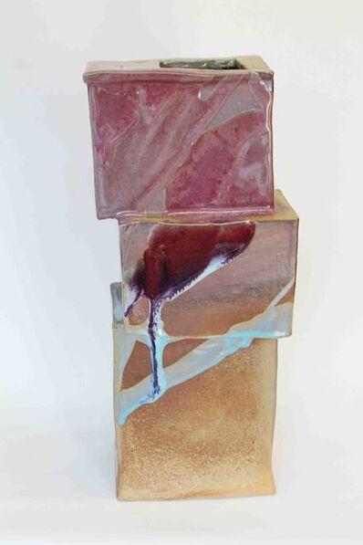 Hadrian Mendoza, 'Sliced Vase', 2014
