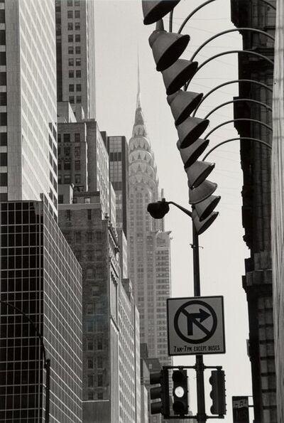Louis Stettner, 'Chrysler Building from Times Square, New York', 1987