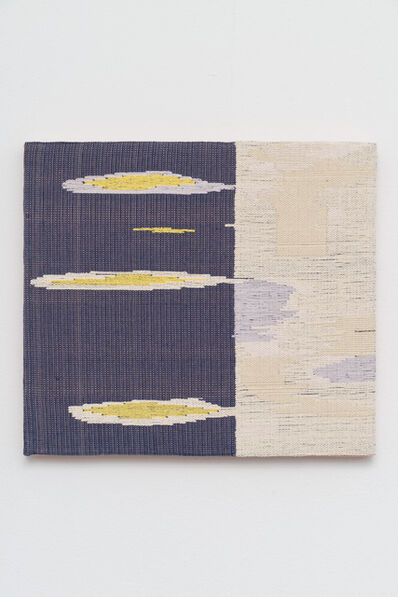 Miranda Fengyuan Zhang, 'Untitled (Blue and White)', 2021