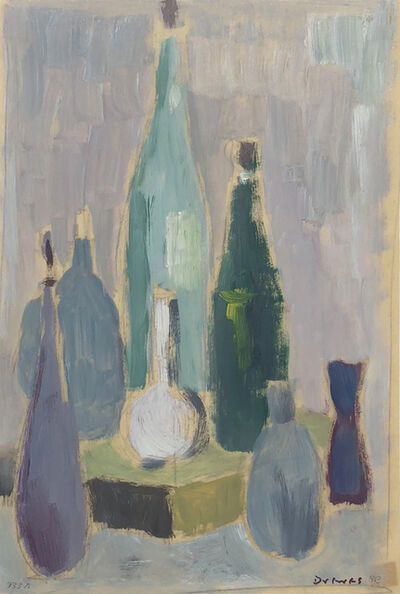Werner Drewes, 'Still Life with Bottles', 1963