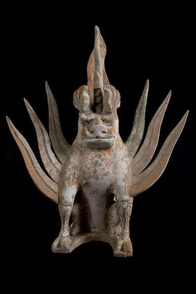 Tang Dynasty, 'Chimera (Pixiu) Terracotta Mythological Being – Tang Dynasty, China '618-907 AD'', 618-907
