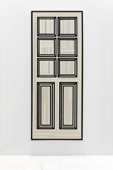 Richard Woods, 'Painted Door JP01', 2019