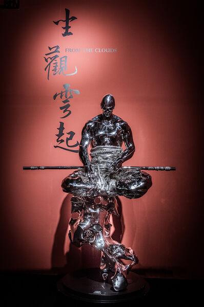 Ren Zhe 任哲, 'Contemplate upon Rising Clouds 坐觀雲起', ca. 2019