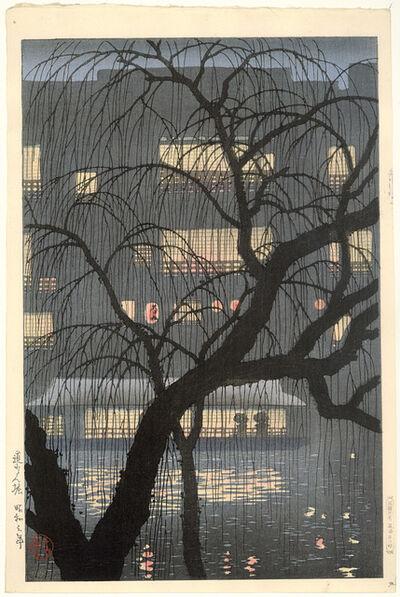 Uehara Konen, 'Dōtonbori', 1928