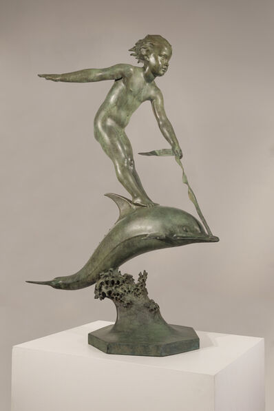 Carl Paul Jennewein, 'Over The Waves', 1927