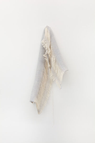 Frances Trombly, 'Drape (Blue Silk and Cotton)', 2018