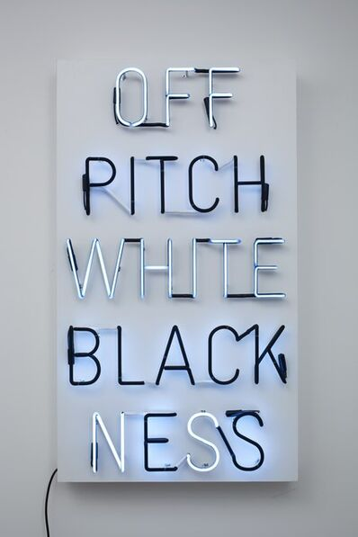 Hank Willis Thomas, 'Pitch Blackness Off Whiteness', 2009
