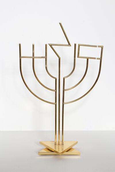 Yaacov Agam, 'Shalom Menorah', ca. 1980