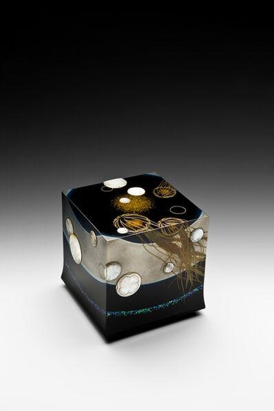"""Yoshio Okada, '""""Jellyfish"""" Maki-e Lacquer Box (T-4024)', 2016"""