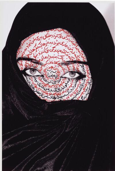 Shirin Neshat, 'I am its Secret (from Women of Allah)', 1993