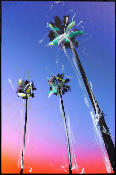 Pete Kasprzak, 'Santa Barbara 3 Palms', 2021