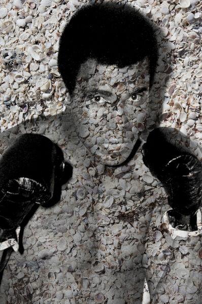 Isack Kousnsky, 'Muhammad Ali Portrait of Shells ', 2015