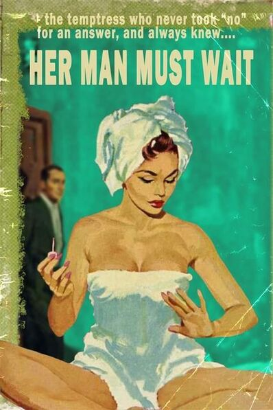 Linda Charles, 'Her Man Must Wait', 2020