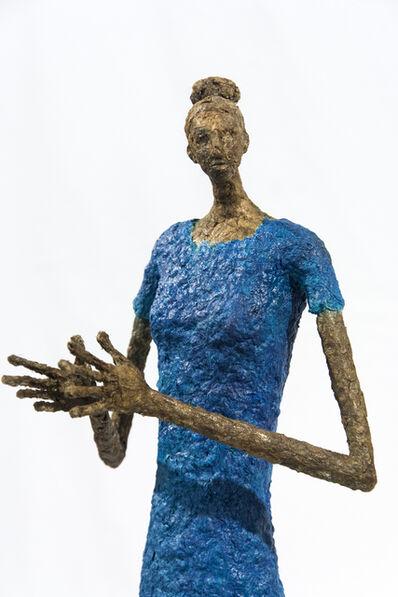 Paul Duval, 'Robe bleu', 2019