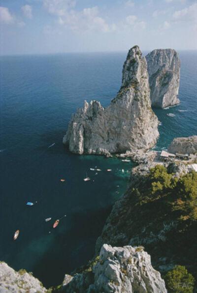 Slim Aarons, 'Faraglioni Rocks, 1974: Faraglioni Rocks on the Italian Island of Capri', 1974