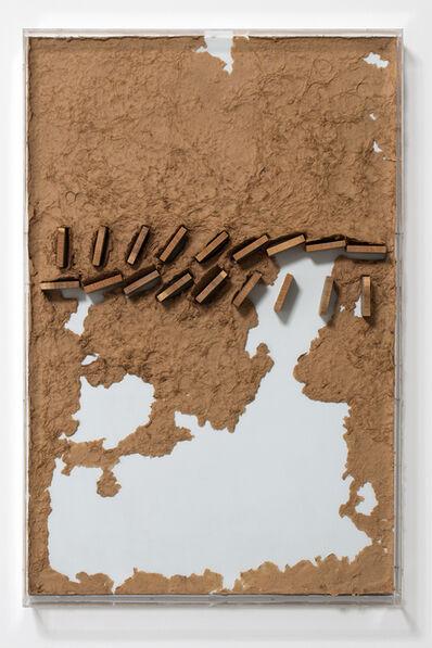Dóra Maurer, 'Sluices with Paper-Pulp', 1981
