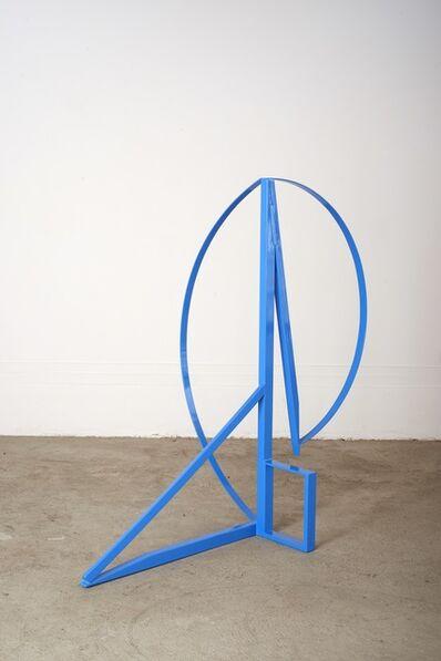 Rebekah Goldstein, 'Swift Kick (blue)', 2018