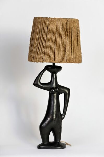"Jean Miotte, '""La Muse"", table lamp', ca. 1960"