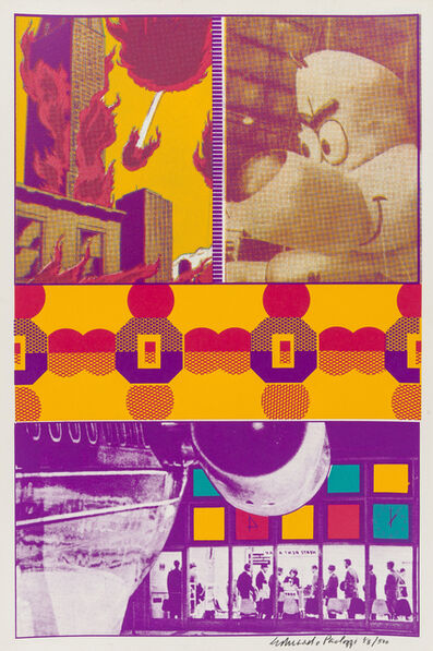 Eduardo Paolozzi, 'Ernie and T.T. at St Louis Airport', 1967