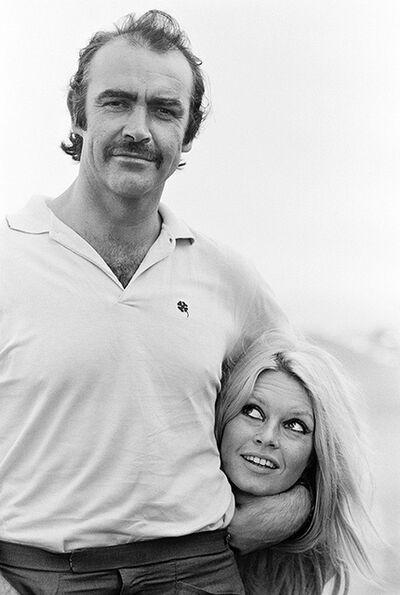 Terry O'Neill, 'Sean Connery and Brigitte Bardot Headlock', 1968