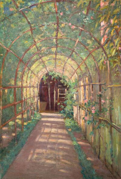 Theodore Wendel, 'Rose Arbor', 1905-1915