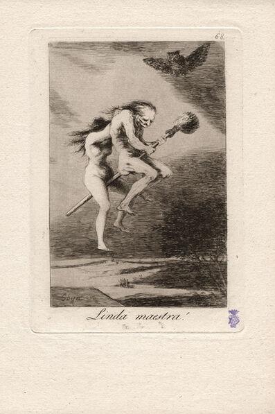 Francisco de Goya, 'Linda maestra! (Pretty teacher!)', 1796-1797