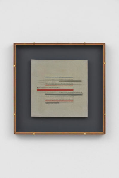 Bice Lazzari, 'Scrittura n.2 [Writing no.2]', 1974