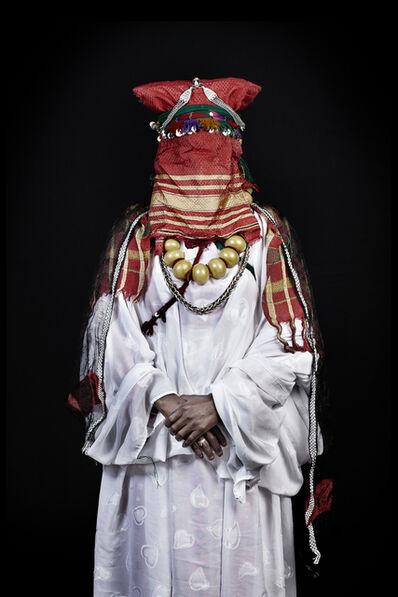 Leila Alaoui, 'La Mariée de Khamlia, sud du Maroc (Les Marocains)', 2014