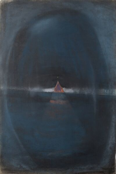 John Tunnard, 'A point on the horizon line'