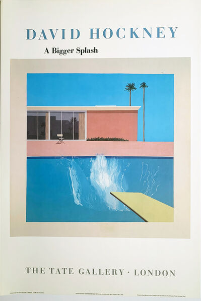 David Hockney, 'David Hockney, A Bigger Splash, The Tate Gallery, London, ', 1985