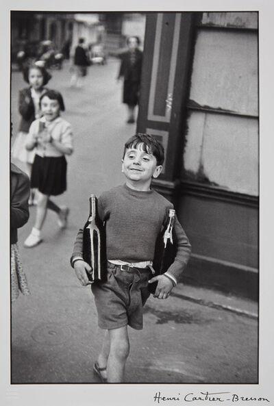 Henri Cartier-Bresson, 'Rue Mouffetard, Paris', 1954