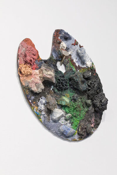 Sofie Lachaert & Luc d'Hanis, 'Paint or Stone / A splash of colour / precious palet (1)'