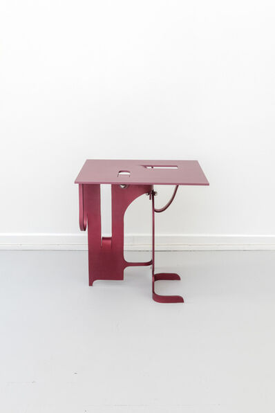 Soft Baroque, 'Soft Metal Side Table', 2019