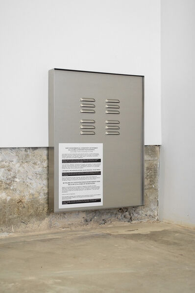 Jesse Stecklow, 'Untitled (Air Vent)', 2014