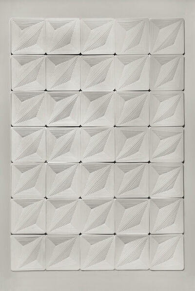 Elizabeth Gregory-Gruen, 'Freehand Cut with Surgial Scalpel: 'Multi Tile'', 2010