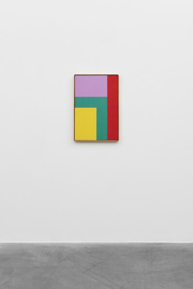Camille Graeser, 'Komplementär betonte raumgleiche Elemente', 1963