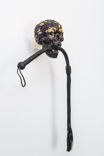 Jan Fabre, 'Skull with Whip', 2013