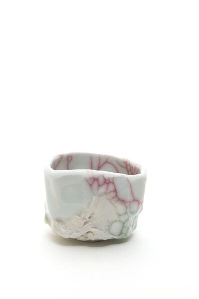 Kodai Ujiie, 'Celadon and Lacquer Sake Cup', 2020