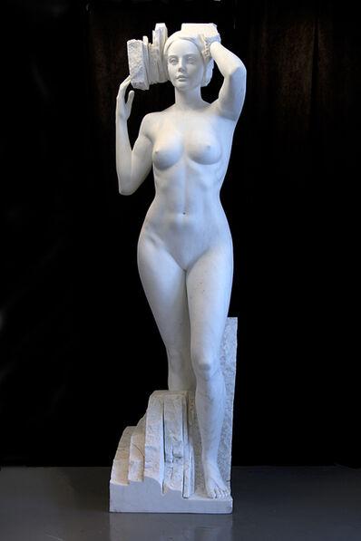 Marton Varo, 'Spring (Carrara, Italy Marble)'