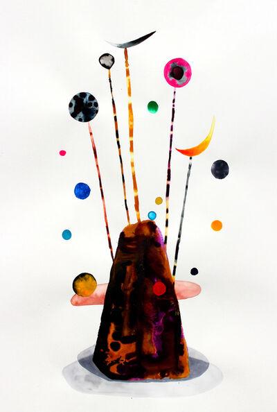Masako Miki, 'Listening to Sun, Moon and Earth (after Alexander Calder's Gibraltar)', 2018