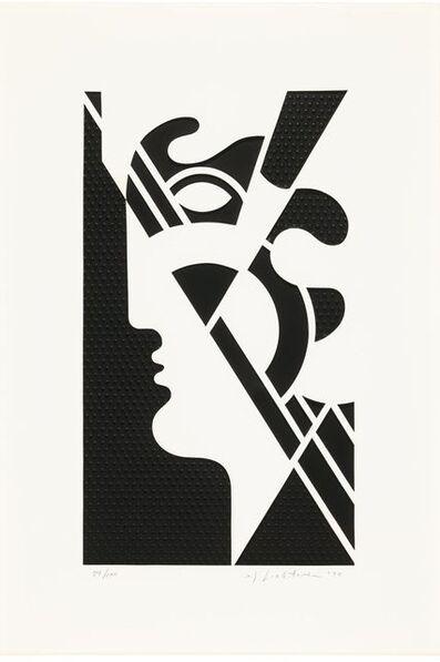 Roy Lichtenstein, 'Modern Head #5', 1970
