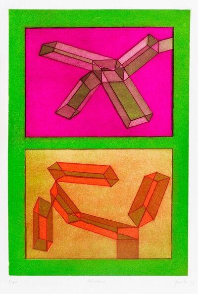 Achille Perilli, 'Dolceduro', 1973