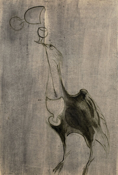 Morris Graves, 'Bird & Chalices', 1950