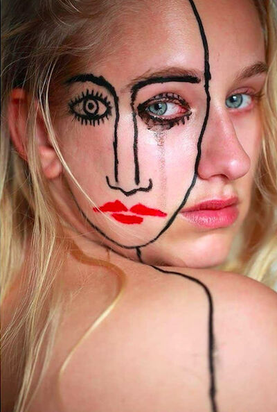 Sebastian Bieniek, 'Crying Bieniek Face No.2', 2018